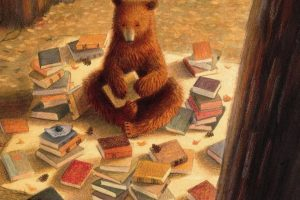 Books bear forest
